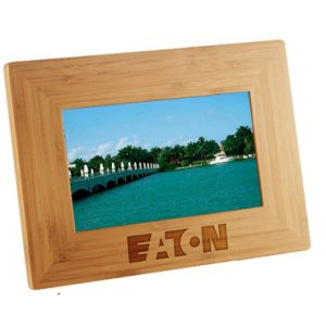 7 Inch Bamboo Digital Photo Frame