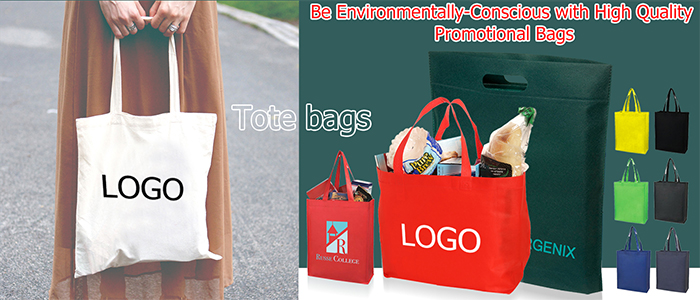 Be Environmentally-Conscious with High Quality Promotional Bags