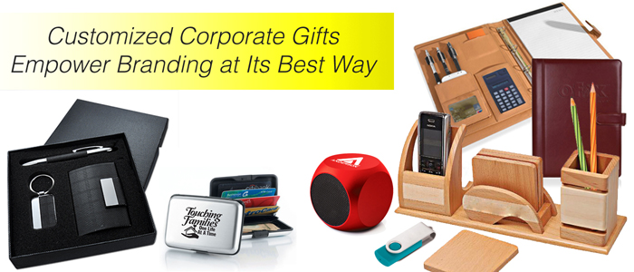 Customized Corporate Gifts Empower Branding at Its Best Way