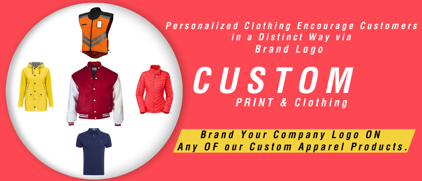 Personalized Clothing Encourage Customers in a Distinct Way via Brand Logo