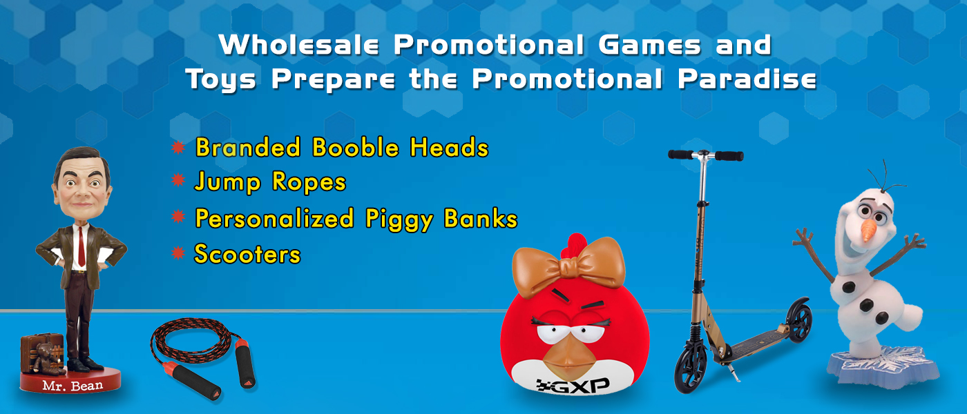 Wholesale Promotional Games and Toys Prepare the Promotional Paradise