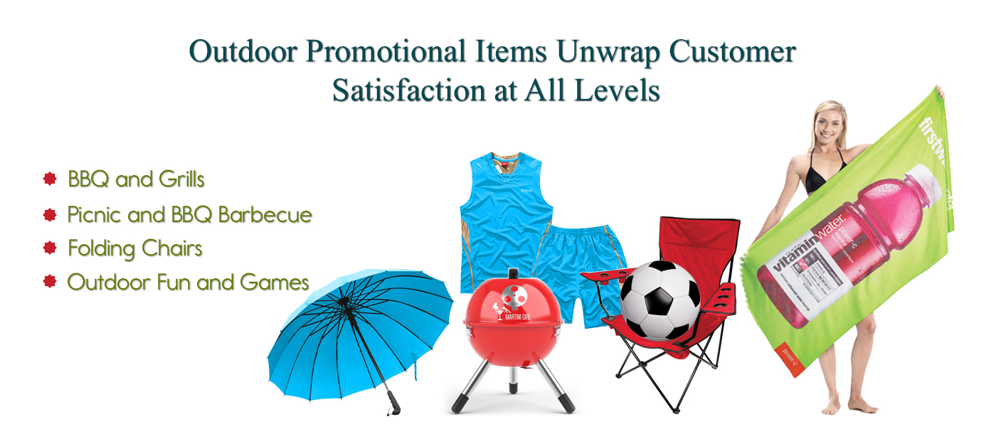 Outdoor Promotional Items Unwrap Customer Satisfaction at All Levels