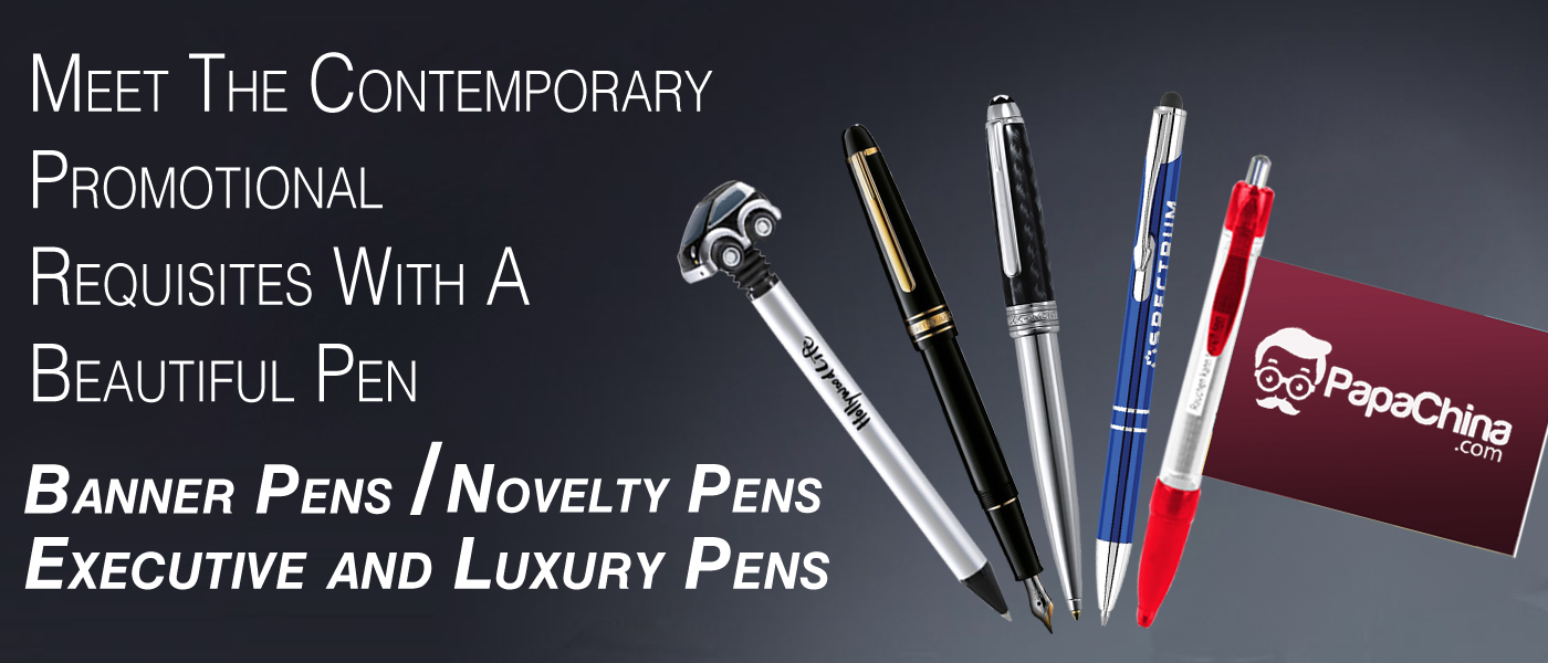 Gift Unique And Novelty Pens To Rediscover Customer Recognition