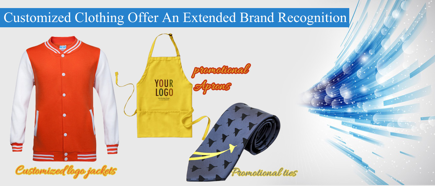 Customized Clothing Offer An Extended Brand Recognition