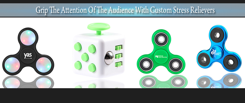 Grip The Attention Of The Audience With Custom Stress Relievers