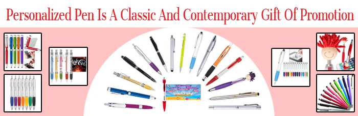 Personalized Pen Is A Classic And Contemporary Gift Of Promotion