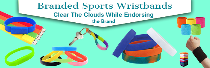 Branded Sports Wristbands Clear The Clouds While Endorsing the Brand