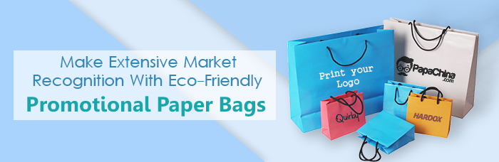Promotional Custom Printed Paper Bags