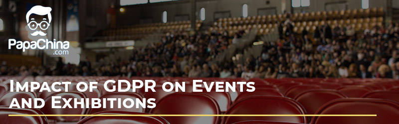Impact of GDPR on Events and Exhibitions
