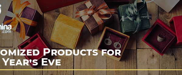 Customized Products for New Year's Eve