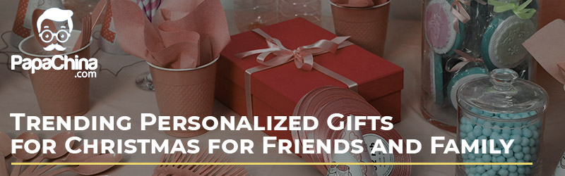 Trending Personalized Gifts for Christmas for Friends and Family