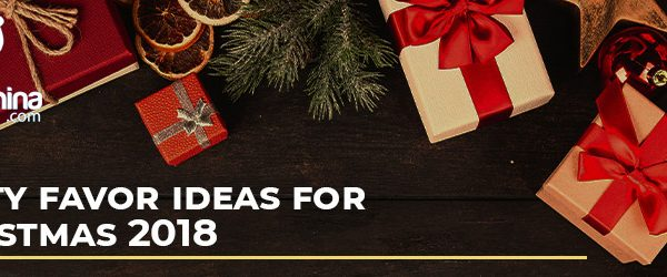 Party Favor Ideas for Christmas 2018