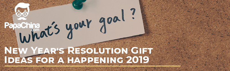 New Year's Resolution Gift Ideas for a Happening 2019