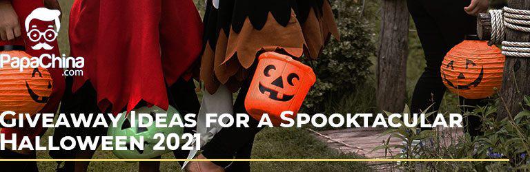 Halloween giveaway ideas