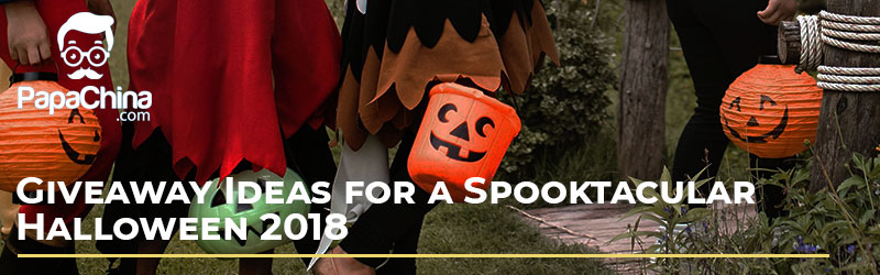 Giveaway Ideas for a Spooktacular Halloween 2018