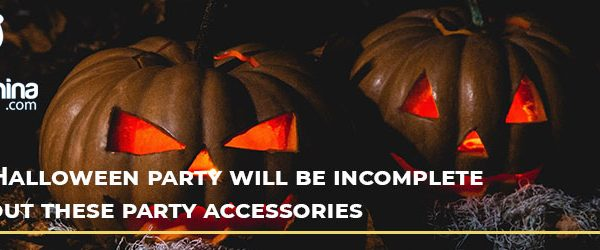 Your Halloween party will be incomplete without these party accessories