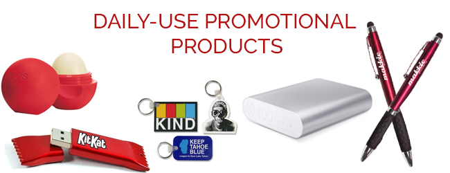 Daily use promotional products