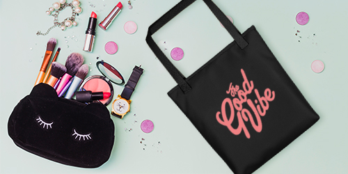 Cosmetic and Tote Bags
