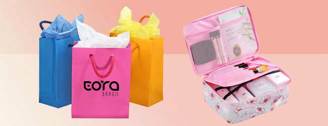 Paper Bags and Cosmetic Bags