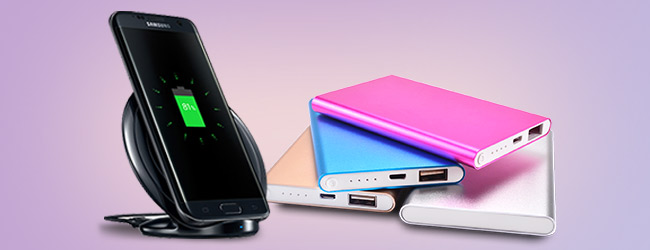 Power Bank and Wireless Charger